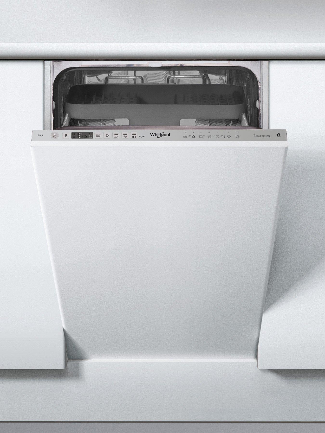 Whirlpool WSIO3T223PCEX WSIO3T223P 10 Place Slimline Fully Integrated Dishwasher